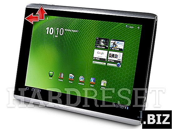 reset keras ACER Iconia One 8 B1-860