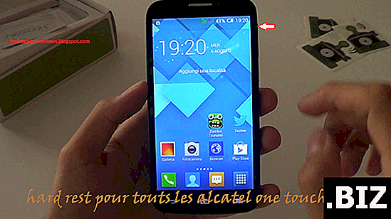 Kaltstart ALCATEL ONE TOUCH FLASH PLUS