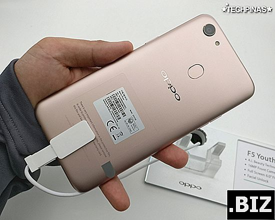 atur ulang OPPO F5