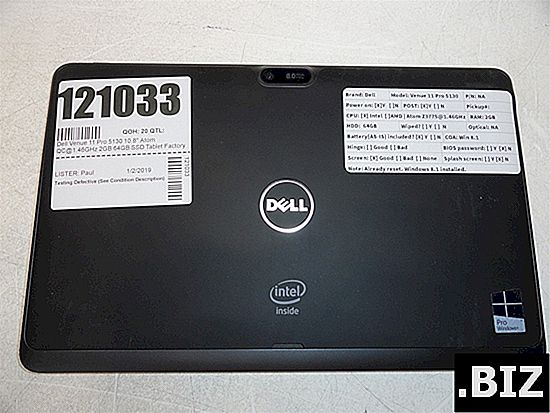 hard reset DELL 7040 Venue 10