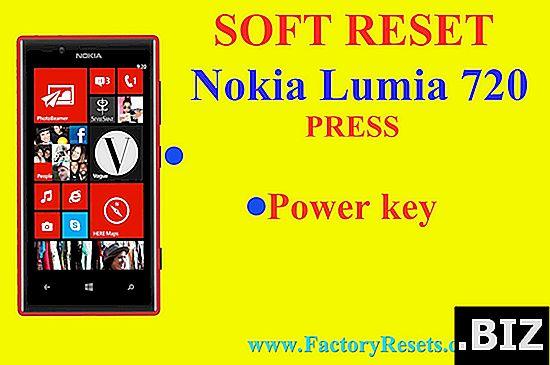 restablecimiento completo NOKIA Lumia 720